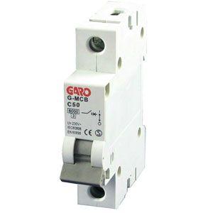 Garo 50 Amp Single Pole (Type C) MCB
