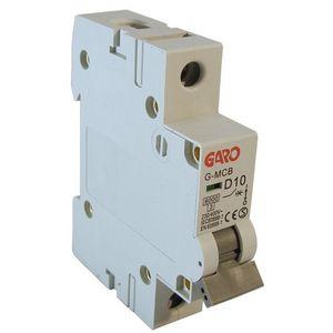 Garo 10 Amp Single Pole (Type D) MCB