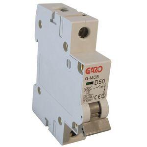 Garo 50 Amp Single Pole (Type D) MCB