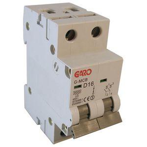 Garo 16 Amp Double Pole (Type D) MCB