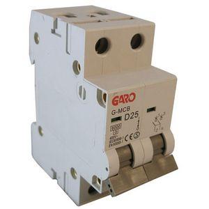 Garo 25 Amp Double Pole (Type D) MCB