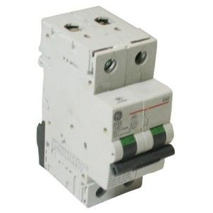 GE 25Amp 2 Pole Motor Rated MCB