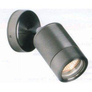 Exterior Stainless Steel GU10 1x35W Single Adjustable Wall light