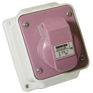 Gewiss IP44 24V 2 Pin Wall Mounted Socket