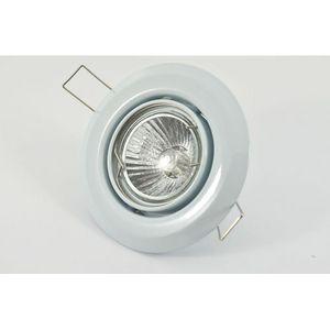 Halolite Adjustable GU10 Downlight Polished White