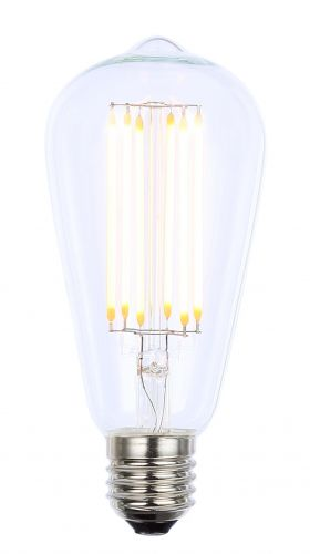 Inlight INL-ST64-LED-ES-CLR 6w LED Filament Lamp Clear