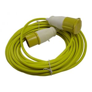 110 Volt 14 Meter Extension Lead 1.5mm Flex