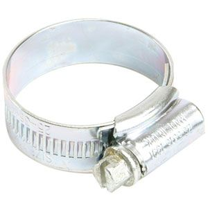 Zinc Plated Hose Clips 9.5 - 12mm