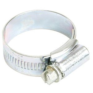 Zinc Plated Hose Clips 30 - 40mm