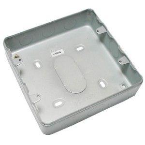 MK 6 Gang & 8 Gang Grid Surface Metal Box