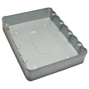 MK 24 Gang Grid Surface Metal Box