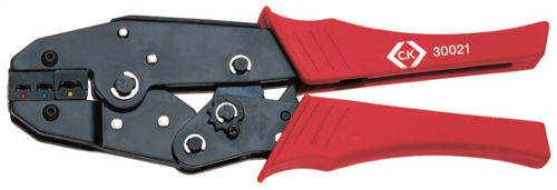 C.K Ratchet Crimping Pliers For Insulated Terminals Red Blue & Y