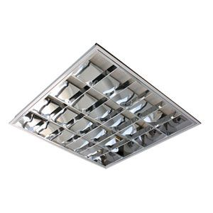 4X18 Watt T8 High Frequency Recessed Cat 2 Fitting.
