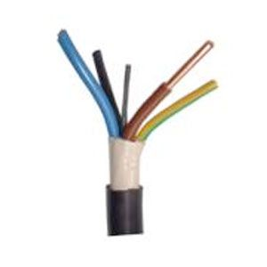 4 Core 1.5mm NYYJ Cable 600/1000V 1 Metre