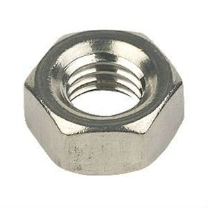 Olympic M6 Steel Hexagon Nuts