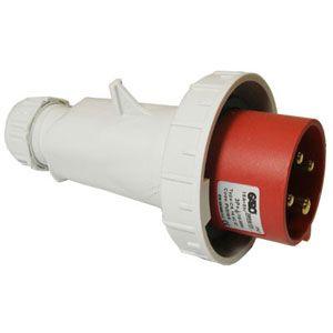 Garo 63 Amp IP67 4 Pin 400V Plug Top