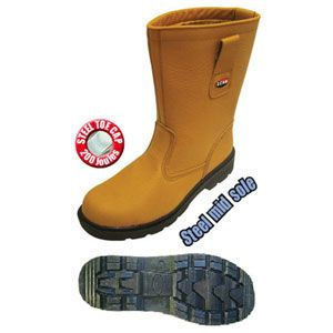 Safety Lined Rigger Boot size 9