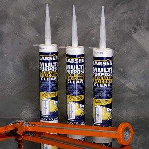 Larsen Multipurpose White Silicone 310ml
