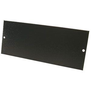 Tass 2 Gang Blank Plate (STO301)