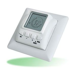 24 Hour Digital Clock Thermostat - TPT44