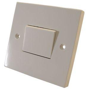 10 Amp 1 Gang 3 Pole Fan Switch Off White