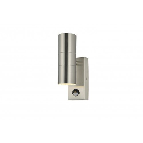 LETO UP & DOWN STAINLESS STEEL C/W PIR