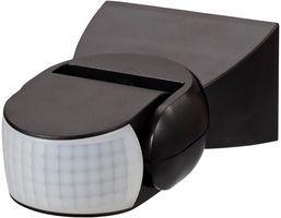 Zinc Dion IP65 Adjustable Motion Sensor with Manual Override Black